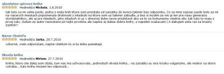 Komentáre z www.martinus.sk